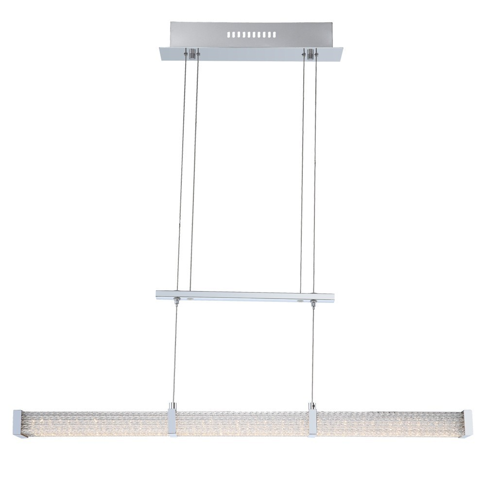 led wohnzimmerlampe:Hängelampe Pendellampe LED 24Watt Wohnzimmerlampe von Globo bei